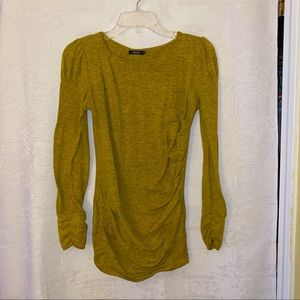 Tops - Ruched long sleeve tunic